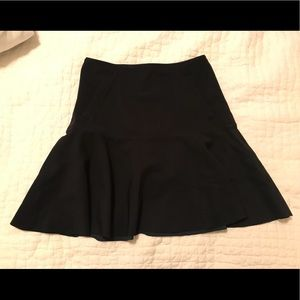 Women's Lululemon Get it On Black Skirt Flare Sz 4